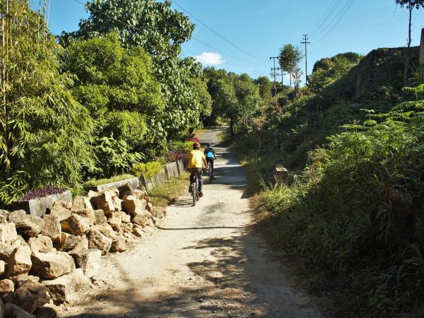 North East India cycling and hiking tour, Eastern Himalayas