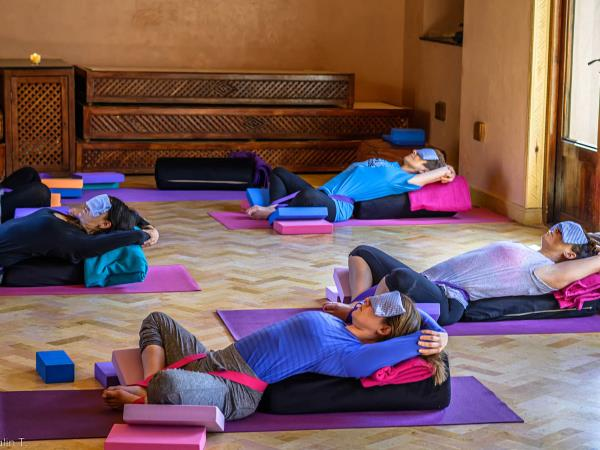 Morocco yoga vacation at the Kasbah du Toubkal