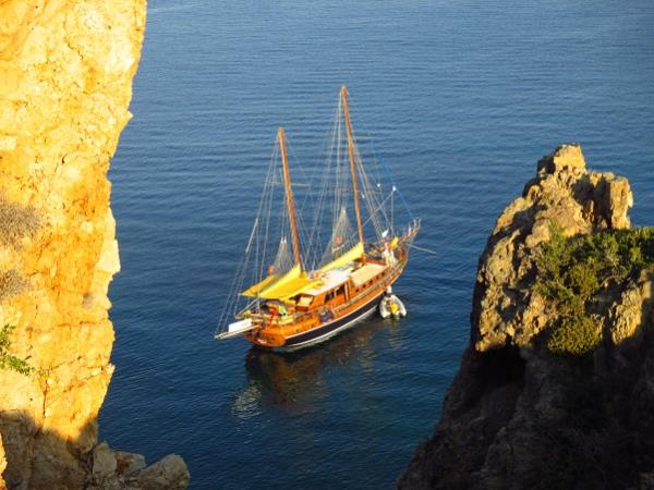 Luxury gulet cruise in the Aegean