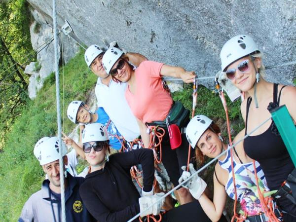 Family activity vacation in Montenegro