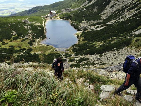 Self guided hiking vacation in the High Tatras, Slovakia