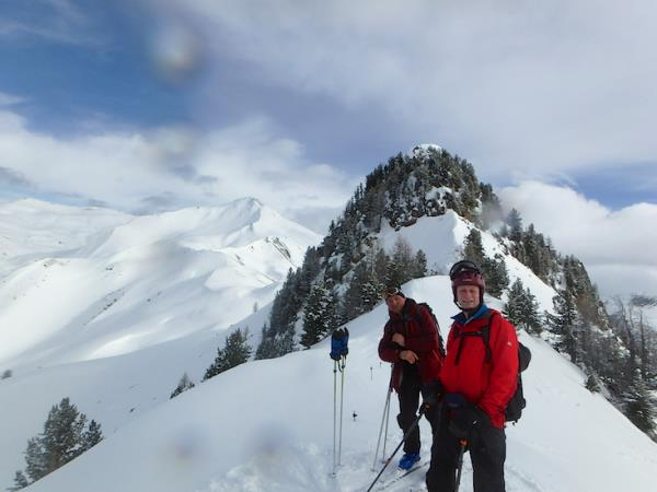Ski touring vacation in the French Alps