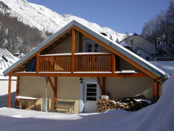 Ski chalet in the Pyrenees