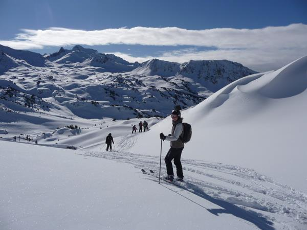Ski touring holiday in the French Pyrenees