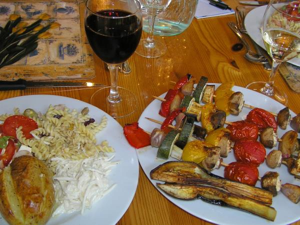 Vegetarian vacations in France