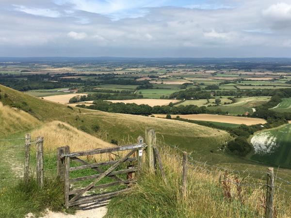 South Downs walking vacation, England
