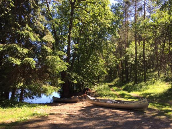 Sweden vacations, self guided canoeing