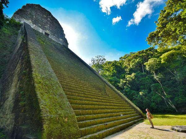 Family vacation to Guatemala and Belize, temples and islands