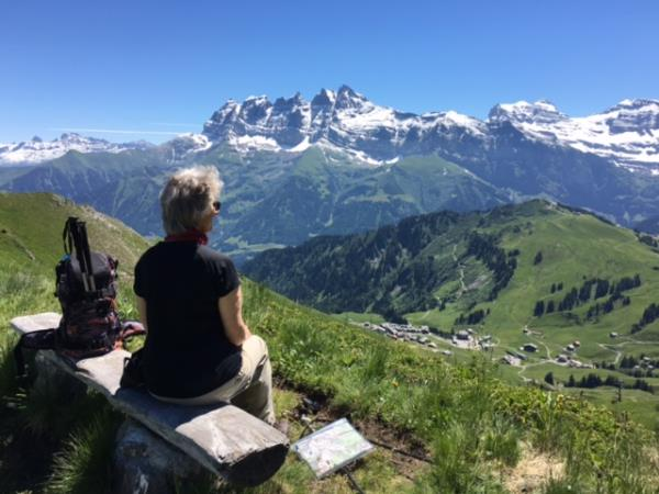 French Alps self guided hiking vacation, 8 days