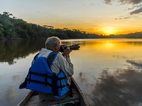 Guyana wildlife vacation, private departure