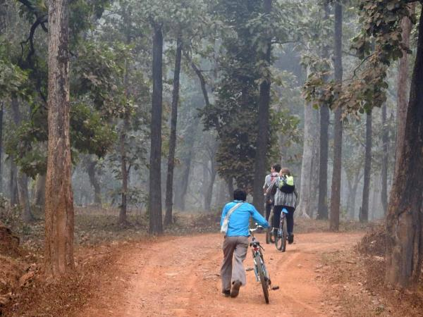 Cycling vacation in the Maikal Hills, Central India