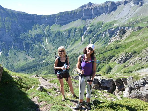 Walking vacations in the French Alps