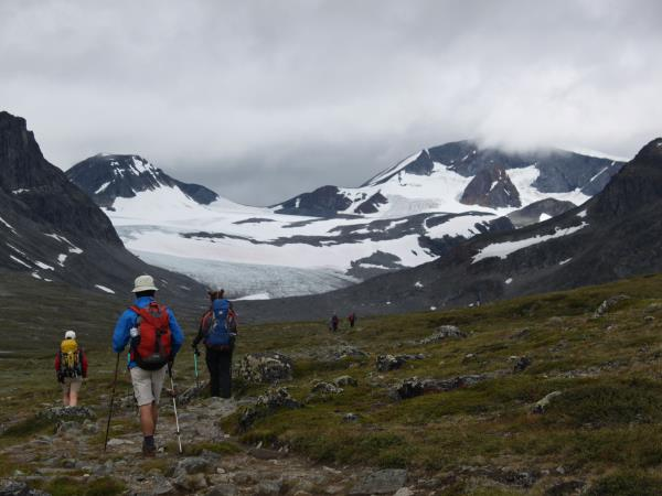 Norway guided hiking vacation in Jotunheimen