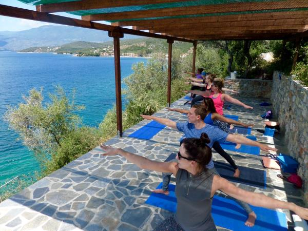 Greece yoga vacation