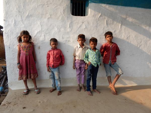 India rural holiday with charity walk