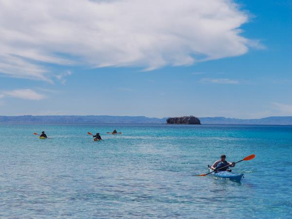 Mexico sea kayaking vacation in Baja