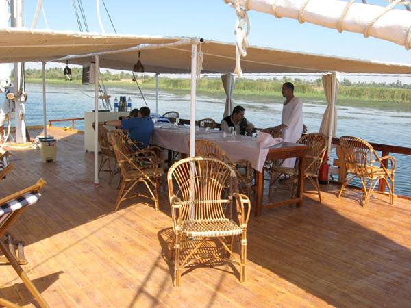 Dahabya Nile cruise holiday in Egypt