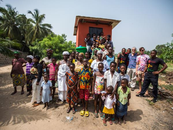 Ghana vacations, eco lodge with village tour