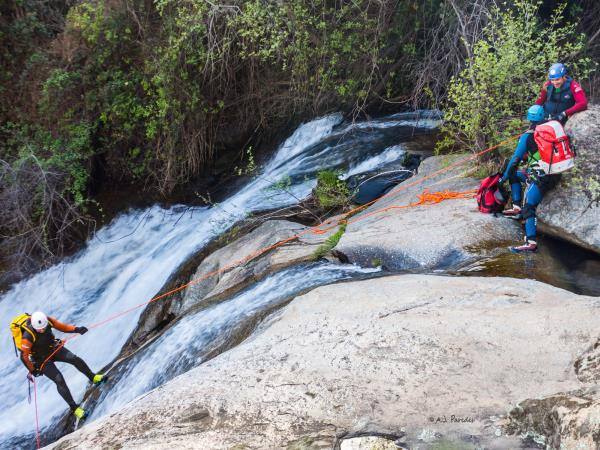 Andalucia activity vacation - canyoning, trekking and kayaking