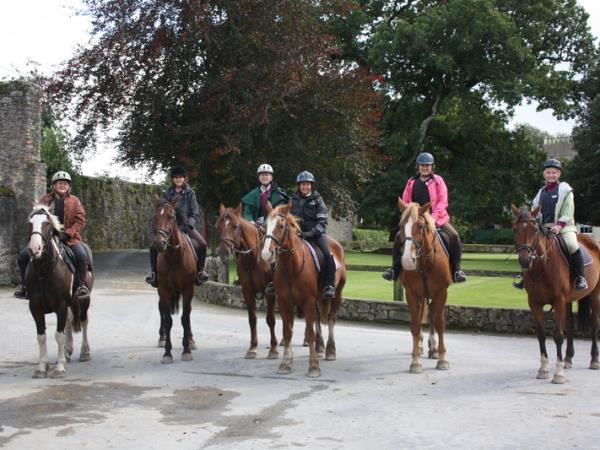 Horse riding vacation in Ireland