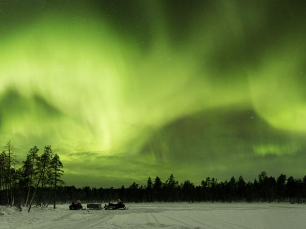 Northern Lights vacation, Finnish Lapland
