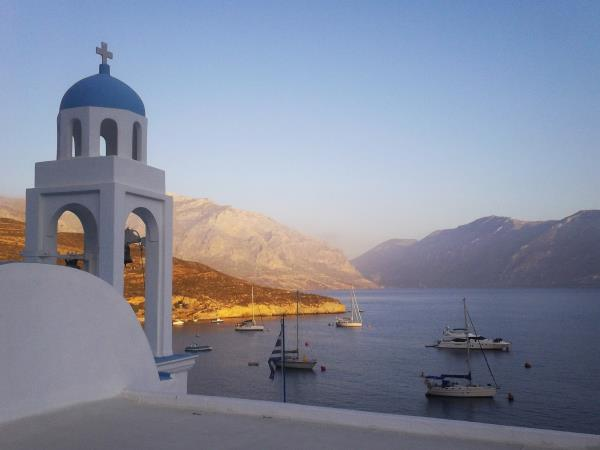 Greek islands sailing & climbing vacation