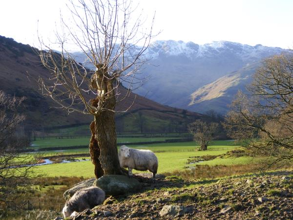 Lake District hike on the Cumbria Way, England
