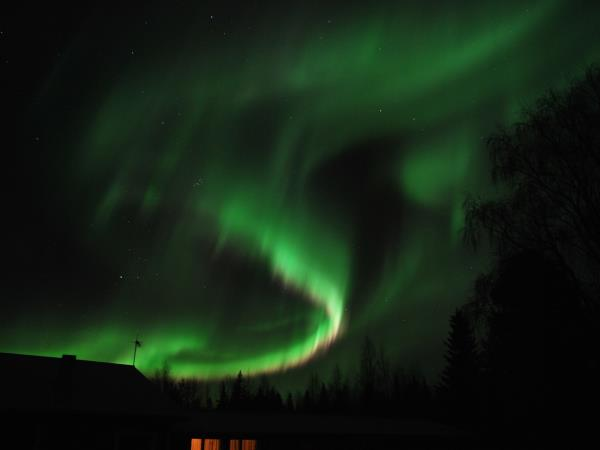 Finnish Lapland Northern Lights vacation