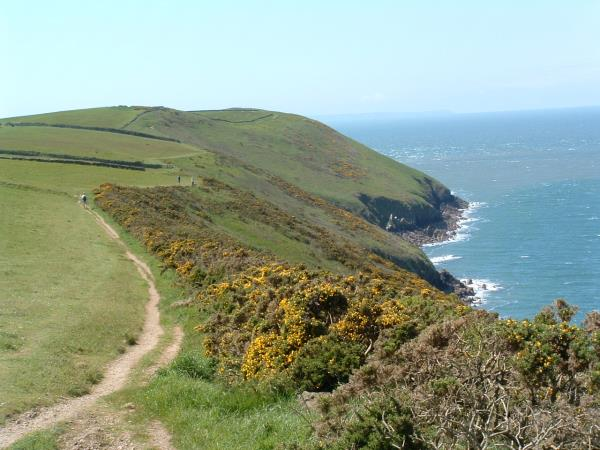 South West Coast Path walking vacation, England