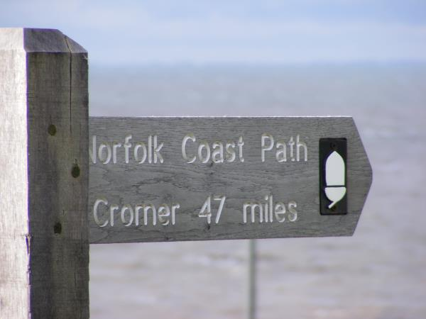 Norfolk Coast Path hiking vacation, England