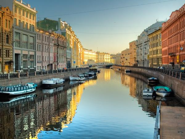 St Petersburg city break, Russia
