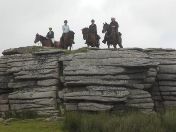 Dartmoor horse riding vacation, England