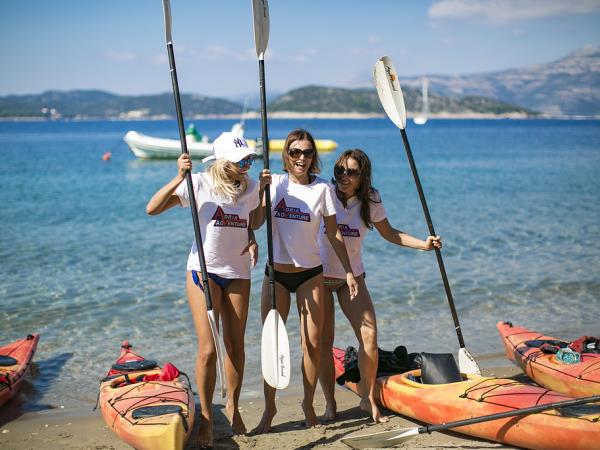 Croatia sea kayaking vacations