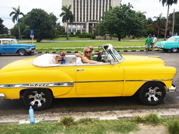 Exciting Cuba family vacation