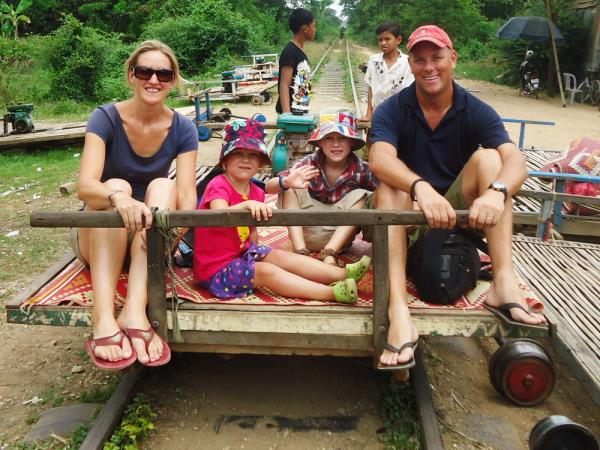 Family vacation in Laos and Cambodia