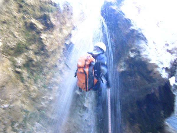 Canyoning and trekking in the Sierra Nevada, Spain