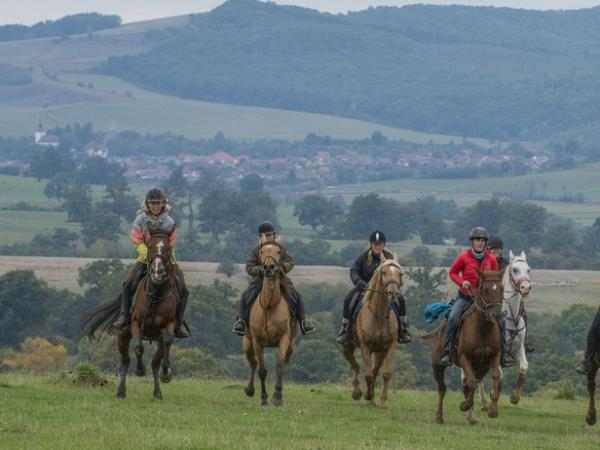 Horse riding vacation in Romania