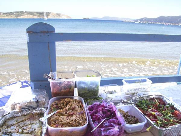 Vegetarian cuisine vacation in Greece