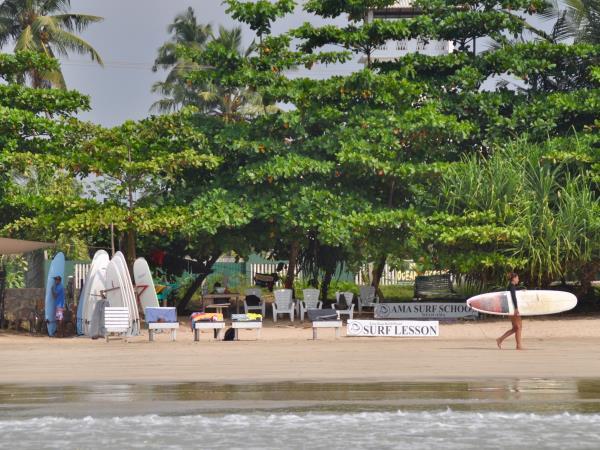 Yoga and surfing in Sri Lanka