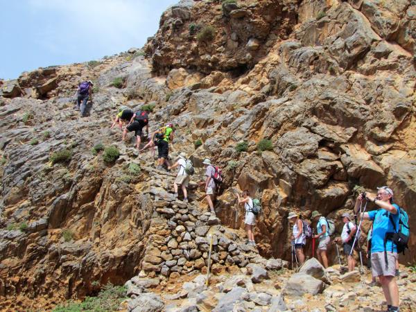 Crete self-guided walking holiday, Greece