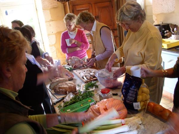 Dordogne cooking vacation in France