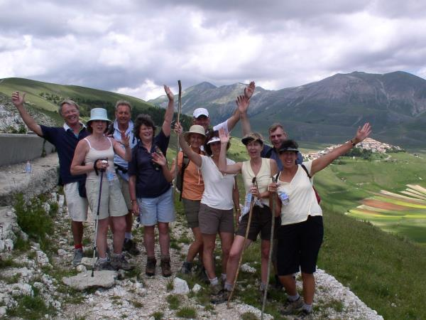Italy luxury vacation, walking and gastronomy