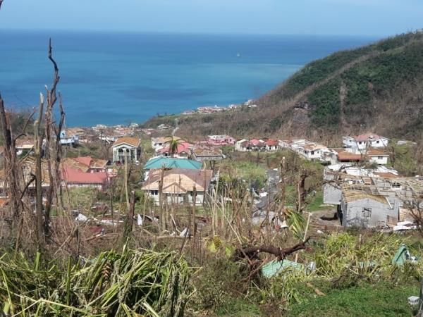 Dominica vacation, after the hurricane