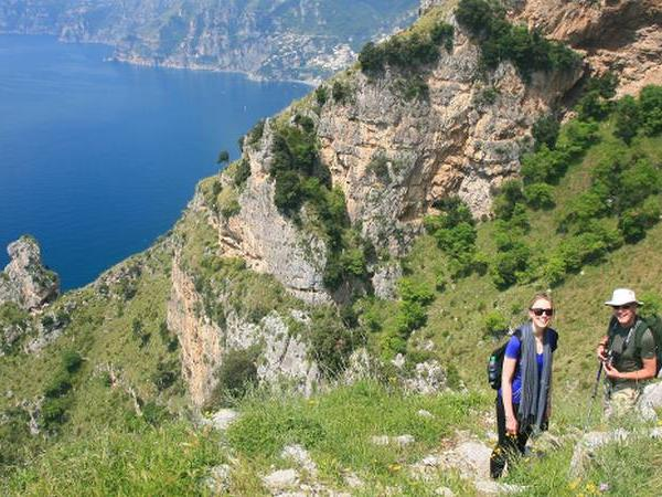 Amalfi Coast moderate hiking vacation, Italy