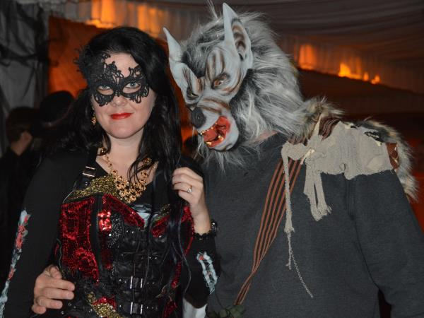 Halloween holiday in Transylvania with party at Bran Castle