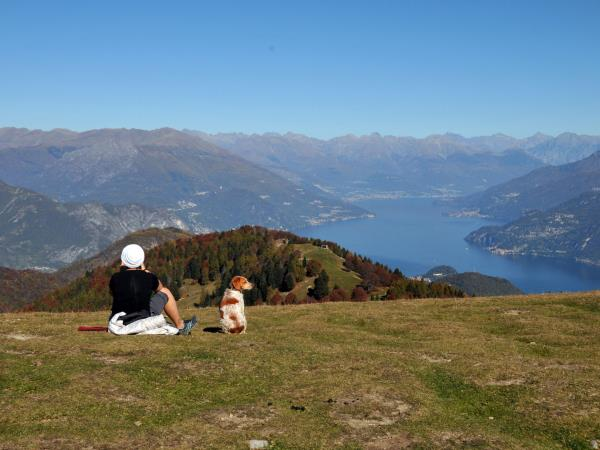 Lake Como summits walking vacation, Italy