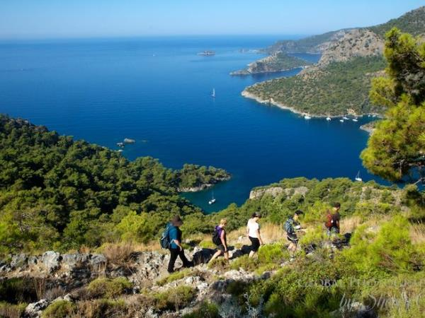 Hiking vacation in Turkey, along the Lycian Way