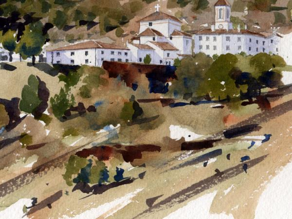 Painting vacation in Andalucia, Spain
