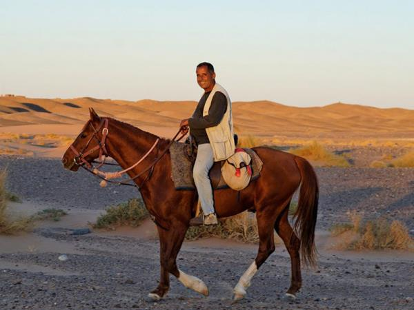 Sahara desert horse riding vacation