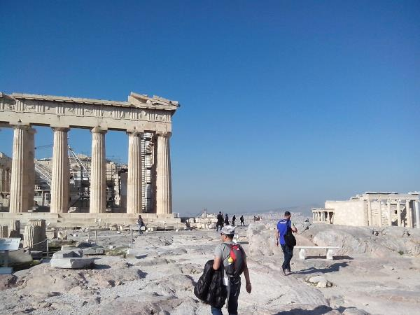 Classical Greece archeological vacation